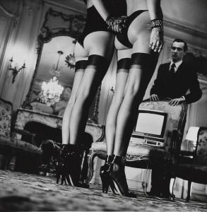 Due paia di calze nere