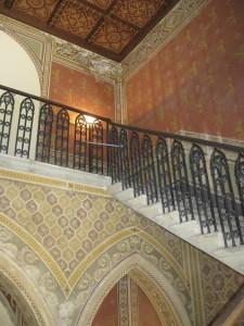 Castello Pasquini interno