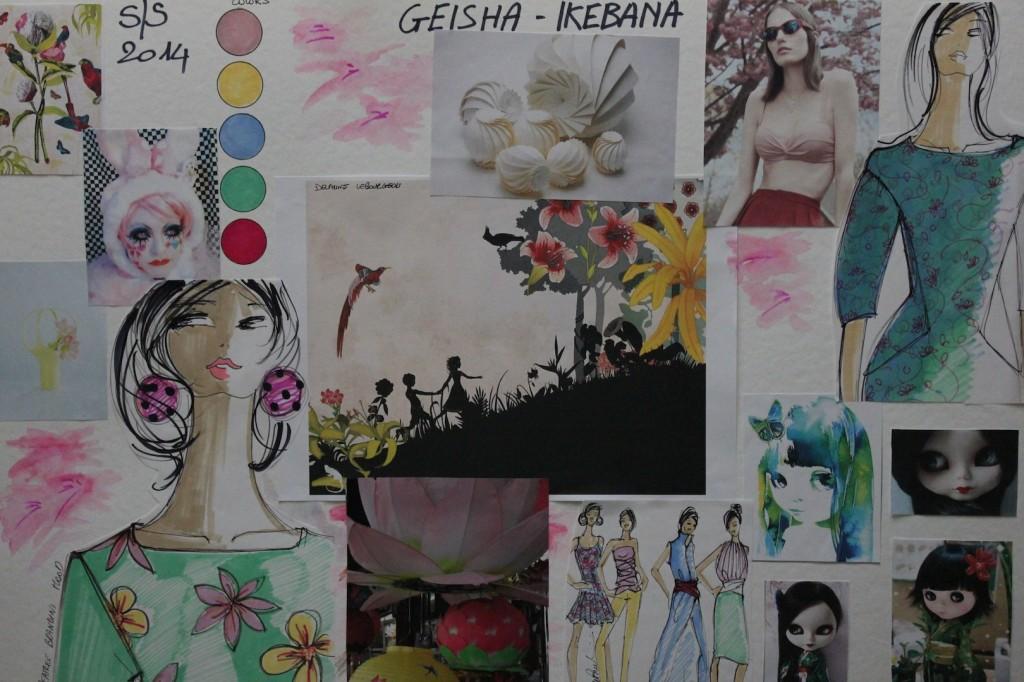 Geisha-Ikebana