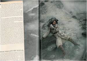 Vogue 1966 Veruscka by Avedon