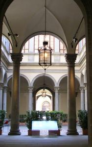 Cortile di Palazzo Strozzi