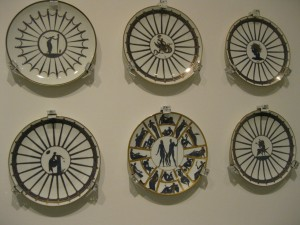 Gio Ponti piatti in ceramica per Richard Ginori
