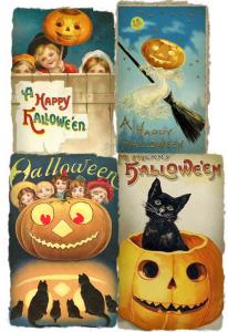 Collage vintage poster per Blog