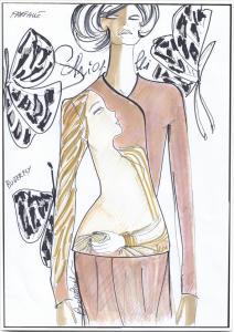 Jean Cocteau Tailleur per articolo