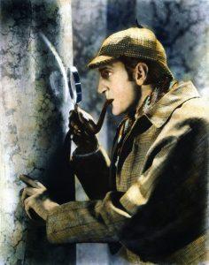 Basil Rathbone nei panni di Sherlock Holmes blog