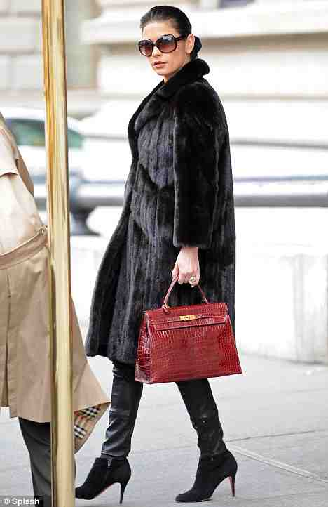 celebrity with hermes birkin borse bag
