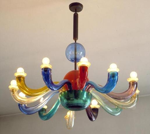 lampadario venini : 13 Lampadario-Venini-anni-50_672-458_resize