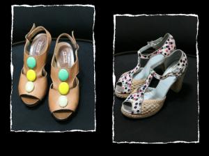 25 collage scarpe
