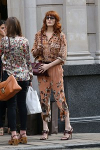 Florence Welch Sighting In London - September 4th, 2012