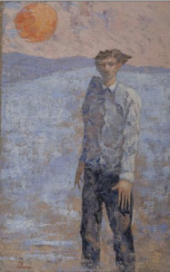 L uomo sulla spiaggia Talani