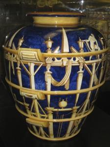 19 Vaso blu Ponti