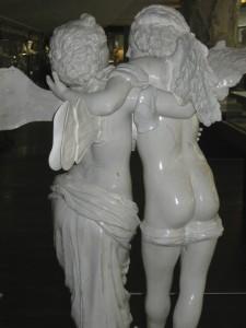 8 Gaspero Bruschi Amore e Psiche 1747 originale Uffizi