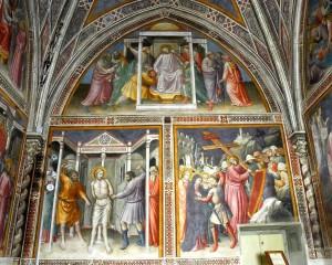 11 Sacrestia affreschi