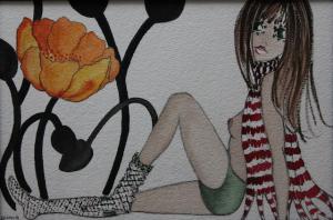 2 Alice - bozzetto