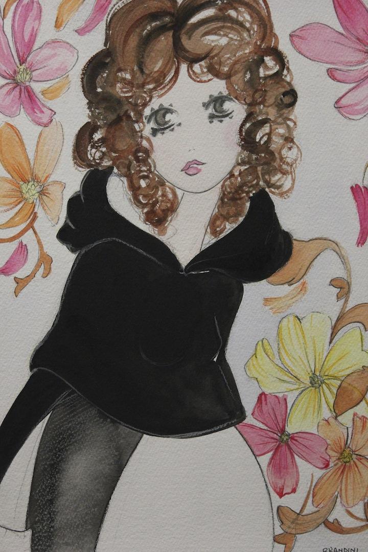 Pixie glitter fashion doll RUN GEORDIE RUN AROUND THE WORLD - Blogger