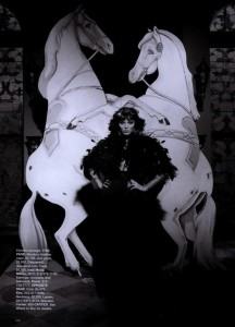 s Moment Georgina Chapman as Marchesa Casati Linbergh Bazaar March 2009 3