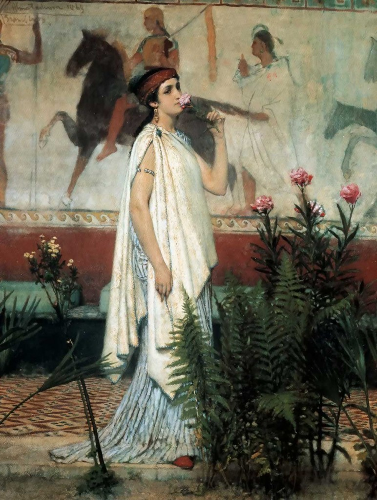 greek woman 300 b Ancient greece greek clothing women would sometimes wear a shorter decorated tunic from around 500 bc the fashion for a greek man's hair was short hair.