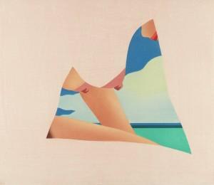 Seascape Dropout 1982 by Tom Wesselmann born 1931