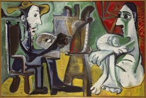 4 Picasso-Il-pitttore-e-la-modella