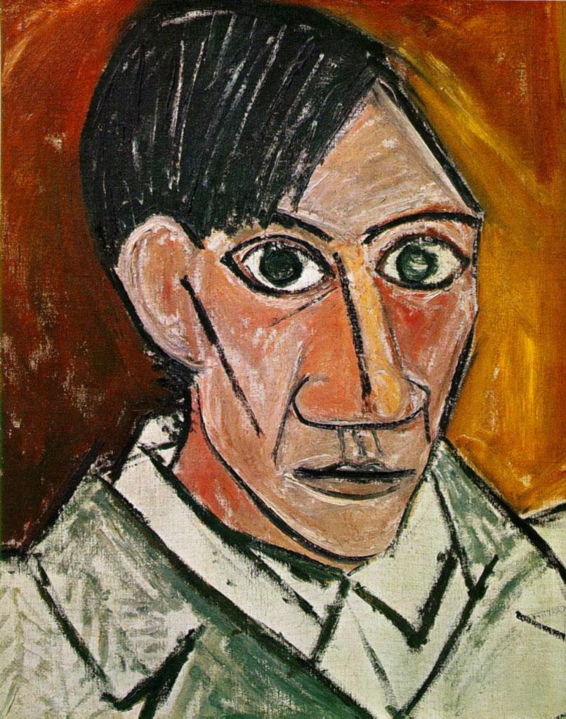 Picasso Portrait Picasso 39 s Self Portrait