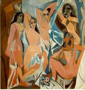 9 les Deimoiselles d Avignon 1907 Moma NY