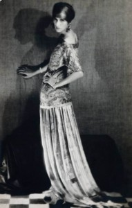 7 man-ray_peggy guggenheim in dress by paul poiret 1924