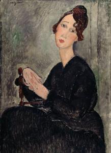 13 ritratto di dedie 1918 centre