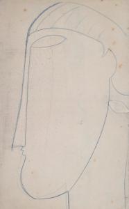 15 bis testa di profilo 1912 centre pompidou