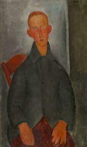 7 giovane ragazzo rosso 1919 centre pompidou