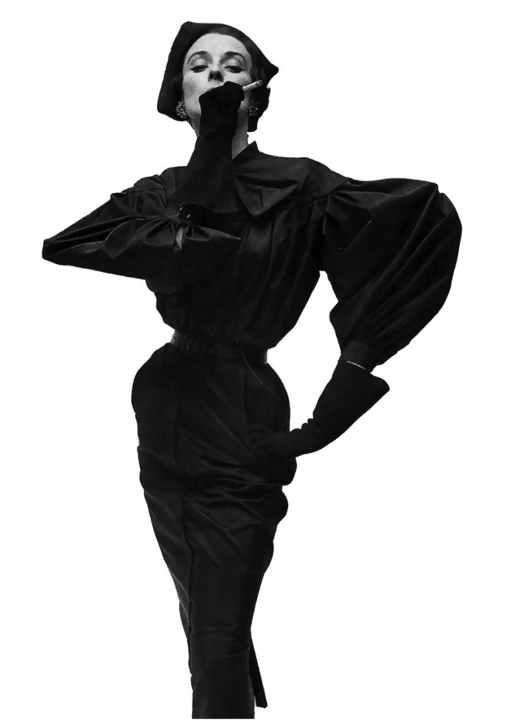 1 model-in-balenciaga-vogue-1950-photographed-by-irving-penn