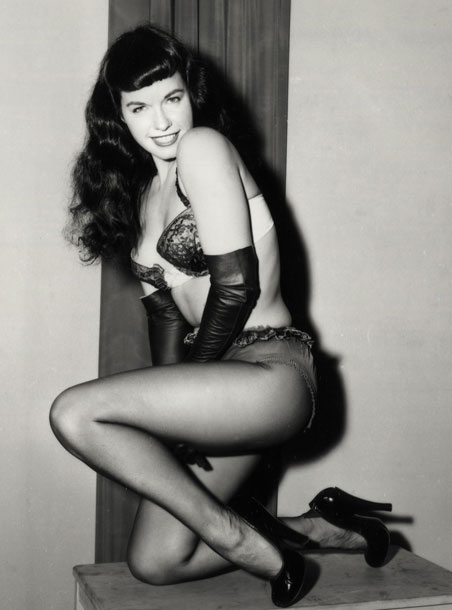 Incredible Bettie Page The Most Famous Pin Up In The History Beatrice Hairstyles For Men Maxibearus