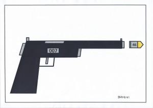 14 pistola bond VR