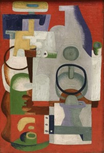 14 Le Corbusier ABSTRACT COMPOSITION 1927
