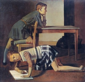 4 Balthus Les Enfants Blanchard 1937_Musee National Picasso Parigi