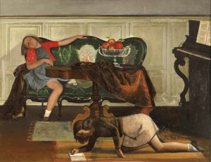 7 The-Salon-I_Balthus 1941 43