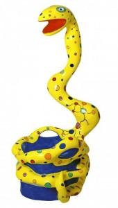 15 Pouf Serpent 1982 Niki De Saint Phalle