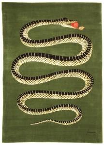 6 Fornasetti Amiamo il serpente tappeto