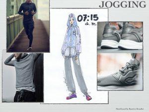 8 Jogging