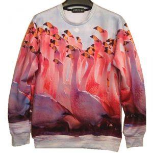 8 Couture-2016-new-fashion-men-women-s-3D-printed-animal-font-b-flamingo-b-font-sweatshirts