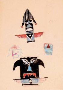 13 maschera-totem
