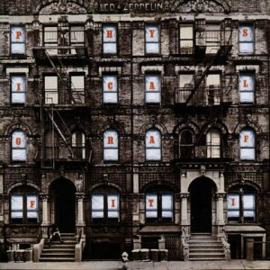 4 Led Zeppelin Physical Graffiti, 1975