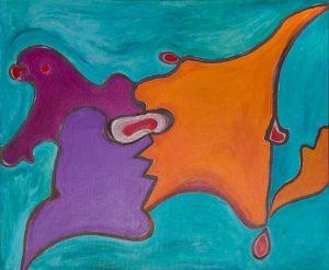 3 Gillo-Dorfles-Due-schieramenti,-2001