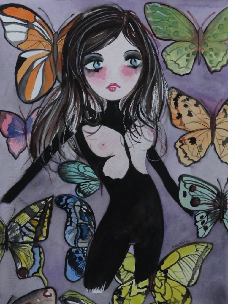 2 farfalla